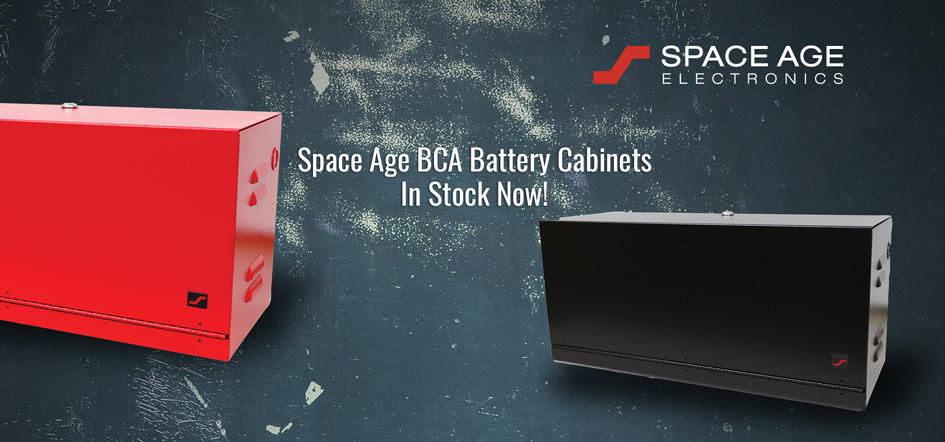 Space Age BCA Battery Cabinets
