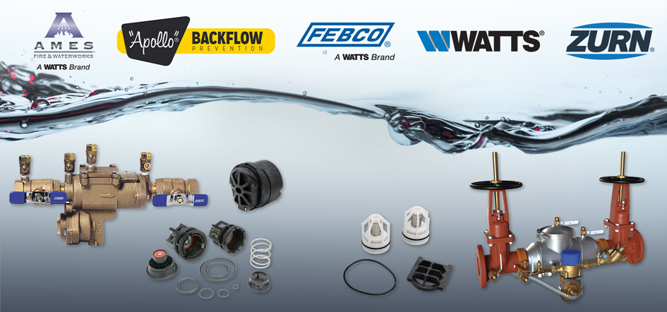 Backflow Assemblies and Repair Kits