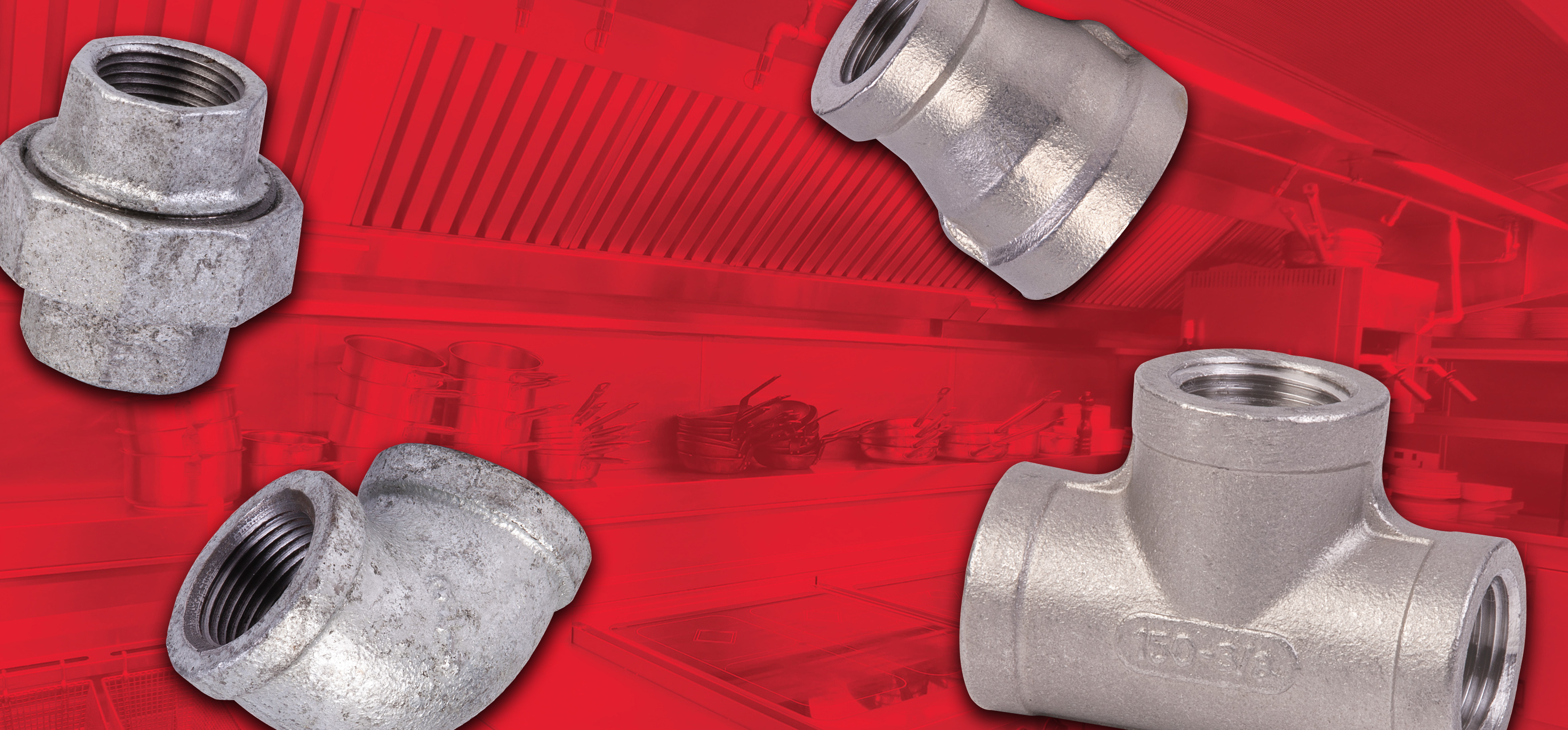 Galvanized and Stainless Steel Pipe Fittings