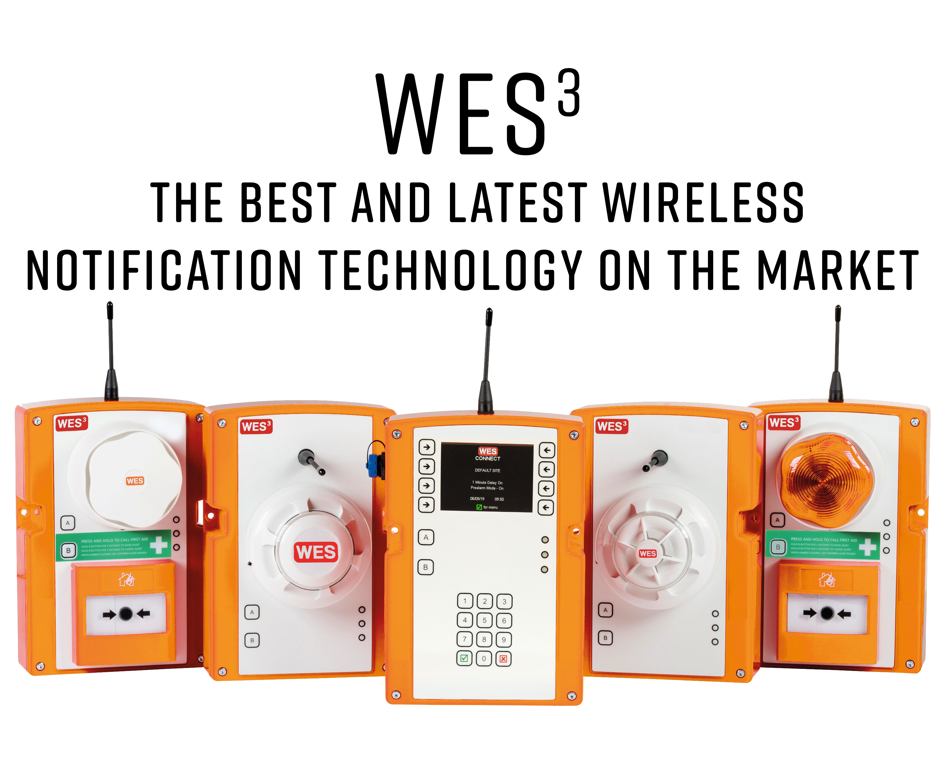 WES 3 The Best And Latest Wireless Notification Technology On The Market.